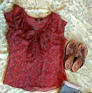 Ana shrt sleeve blouse
